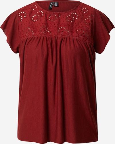 VERO MODA Shirt 'VMBRIELLE' in rot, Produktansicht