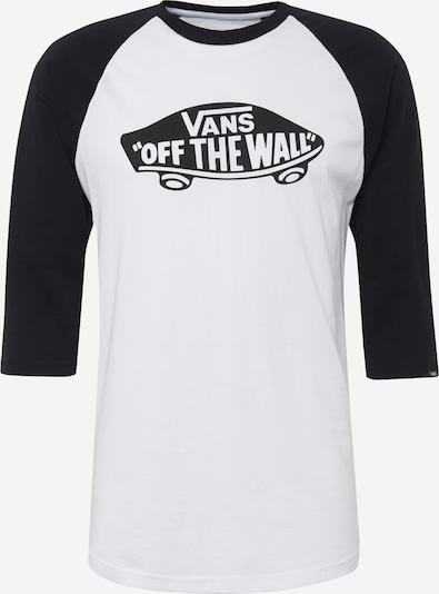 VANS Tričko 'OTW RAGLAN' - černá / bílá, Produkt
