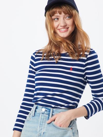 POLO RALPH LAUREN Shirt in de kleur Navy / Wit, Modelweergave