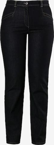 Ulla Popken Jeans 'Mony N' in Black