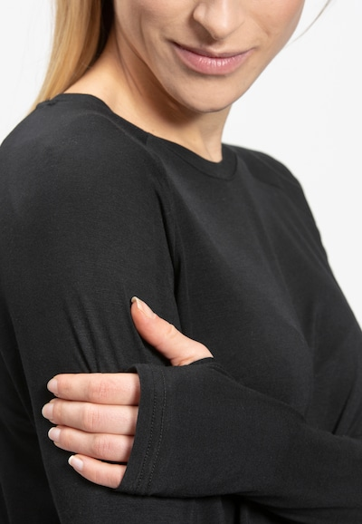 ENDURANCE ATHLECIA Funktionsshirt 'Hailey' in schwarz, Produktansicht