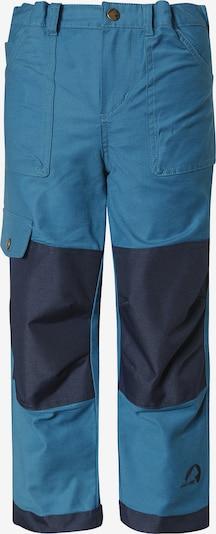 FINKID Cargohose 'KALLIO' in nachtblau / royalblau, Produktansicht
