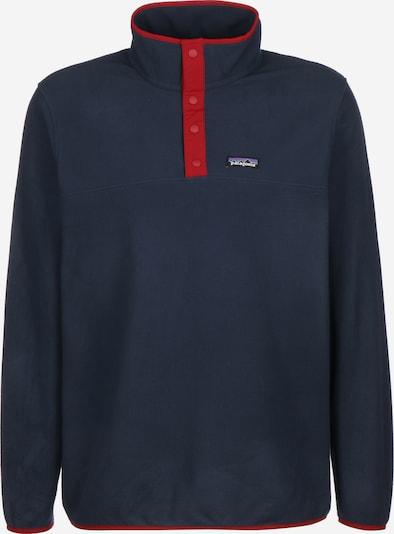 PATAGONIA Sporttrui 'Micro D Snap-T' in de kleur Blauw / Rood, Productweergave