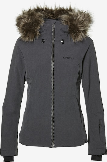 O'NEILL Sportovní bunda - tmavě šedá: Pohled zepředu