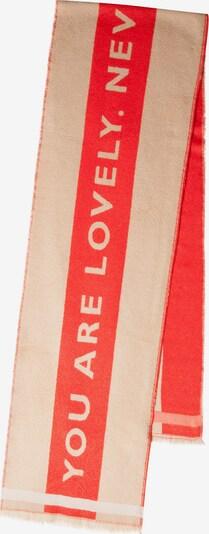 CODELLO Schal in beige / rot, Produktansicht
