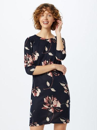 ONLY Kleid in hellbeige / dunkelblau / rosa, Modelansicht