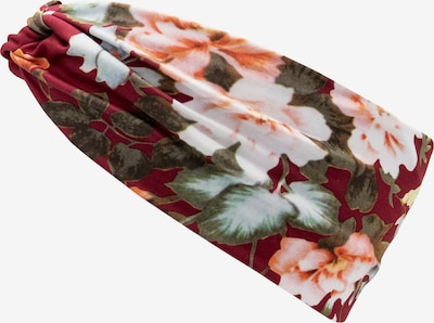 chillouts Stirnband 'Waikiki' in bordeaux, Produktansicht