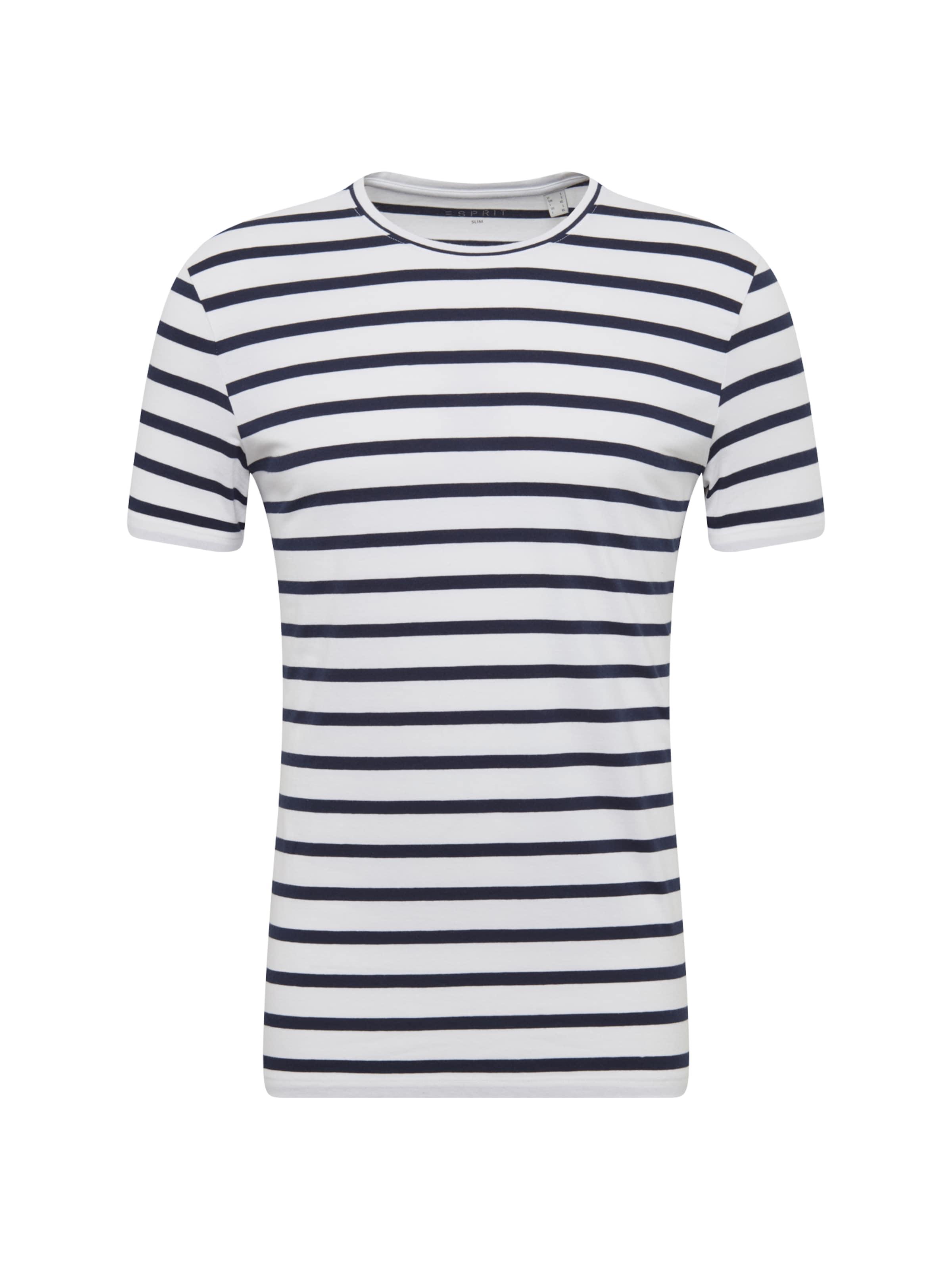 shirt Noir Esprit Blanc T En 5qn6wTtp