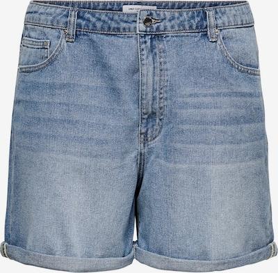 ONLY Carmakoma Jeans 'CARHINE REG SHORTS' in de kleur Blauw, Productweergave