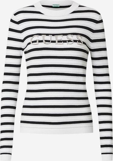 GUESS Bluzka sportowa 'ZOE' w kolorze czarny / białym, Podgląd produktu