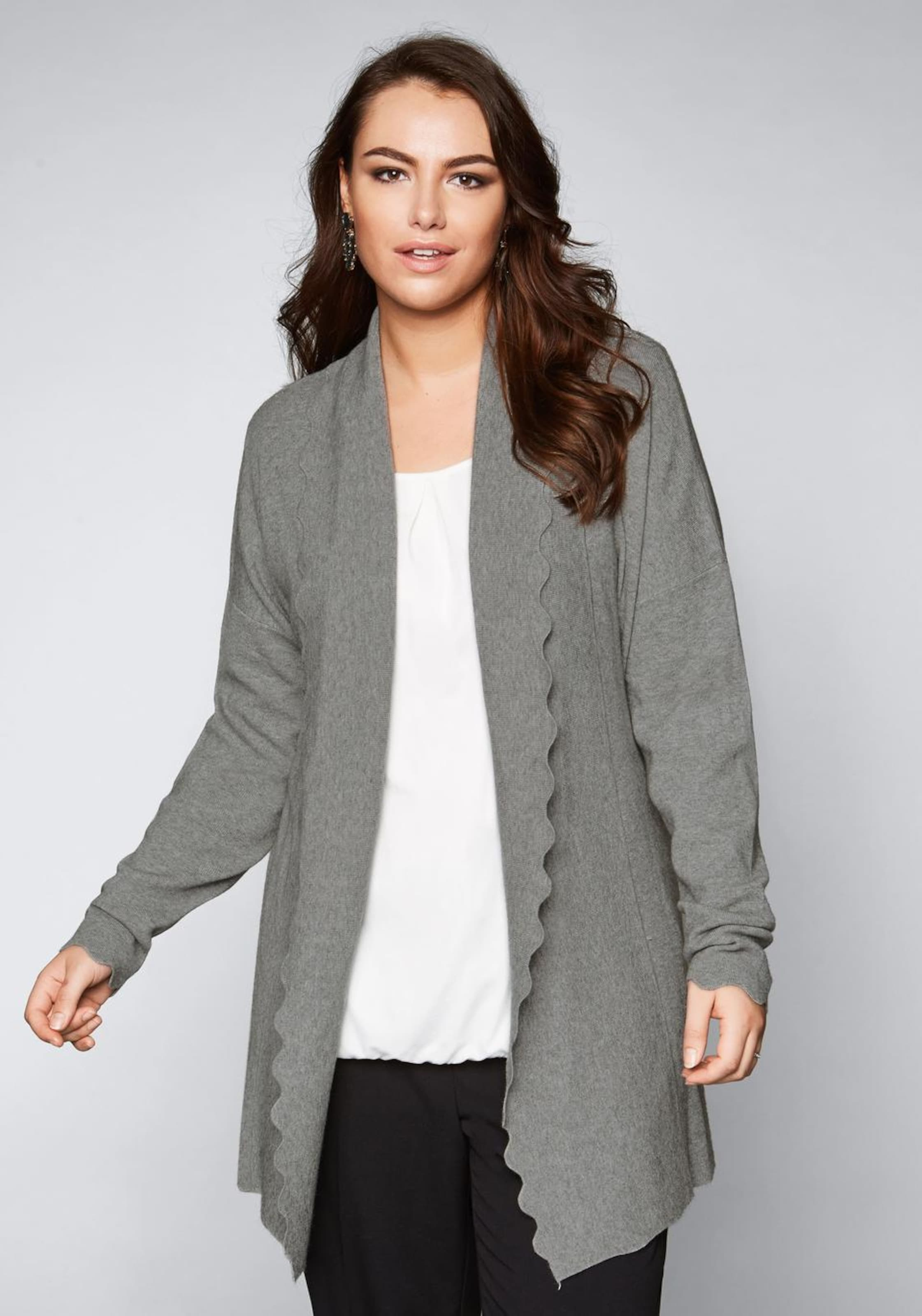Sheego Strickjacke Graumeliert Sheego In Strickjacke Sheego Strickjacke In Graumeliert stQdCrh