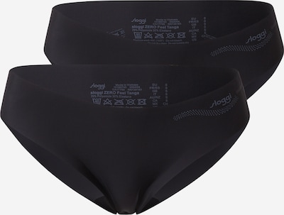 Slip 'ZERO Feel' SLOGGI pe negru, Vizualizare produs