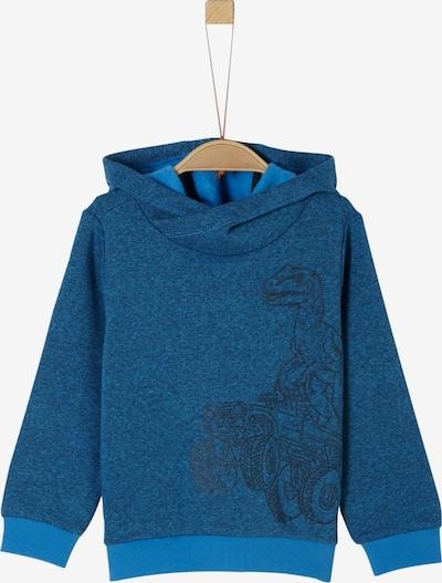 s.Oliver Junior Sweatshirt in royalblau / himmelblau / schwarz, Produktansicht