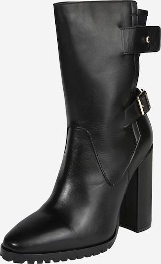 TOMMY HILFIGER Laarzen 'MODERN BLANKET HIGH BOOTIE' in de kleur Zwart, Productweergave