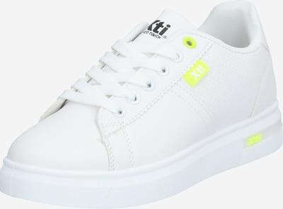Xti Sneaker in gelb / weiß, Produktansicht