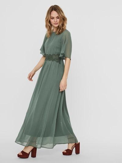 VERO MODA Maxi Kleid in grün: Frontalansicht