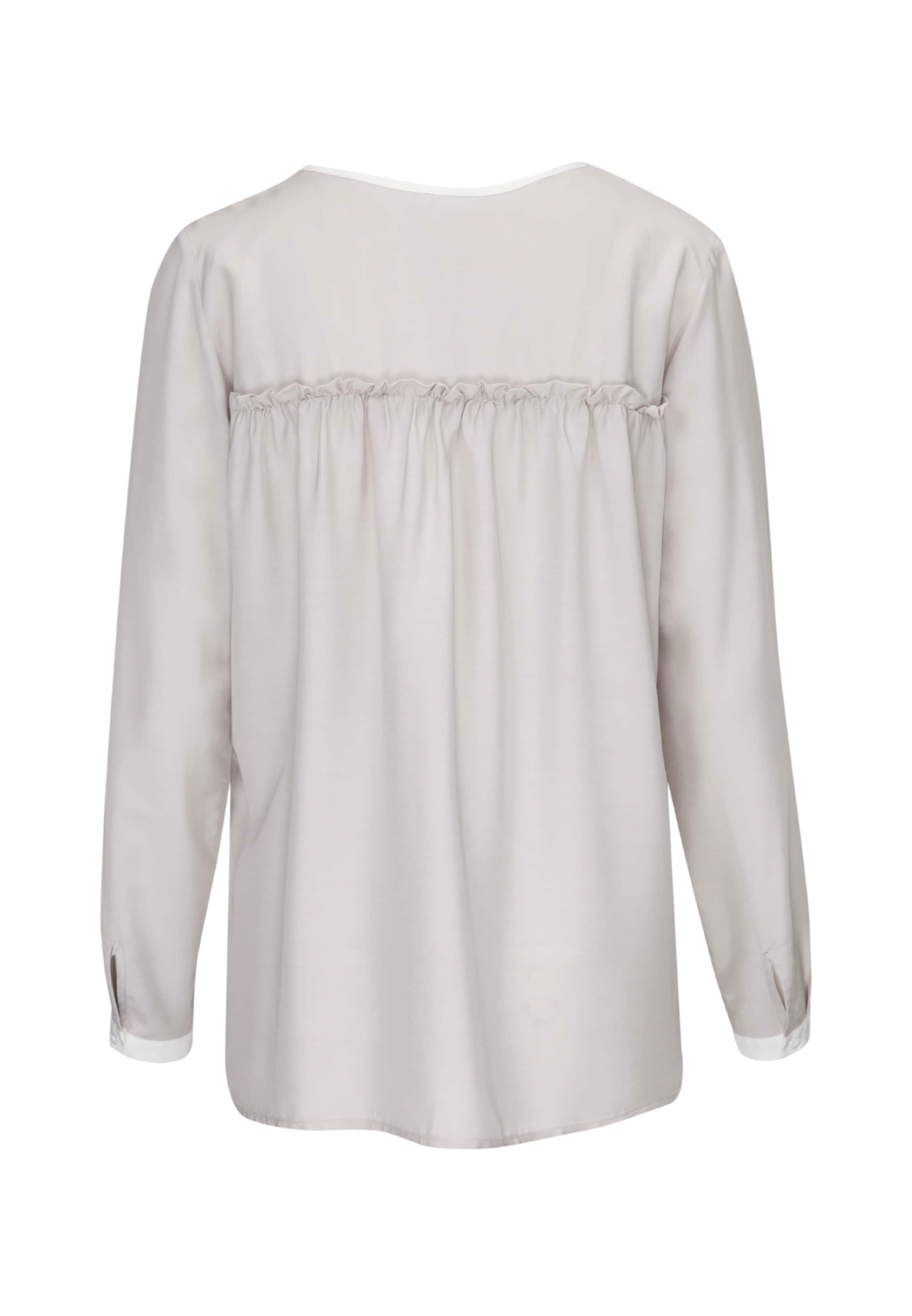 'schwarze In Seidensticker Rose' Perlweiß Shirtbluse zGqSMLUpV