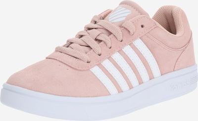K-SWISS Zemie apavi 'COURT CHESWICK SPSDE' pieejami rožkrāsas / balts, Preces skats