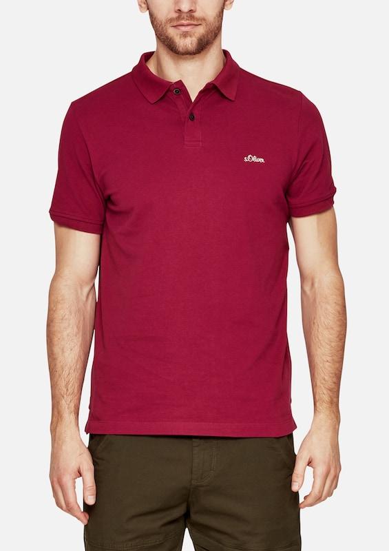s.Oliver RED LABEL Poloshirt aus Baumwollpiqué