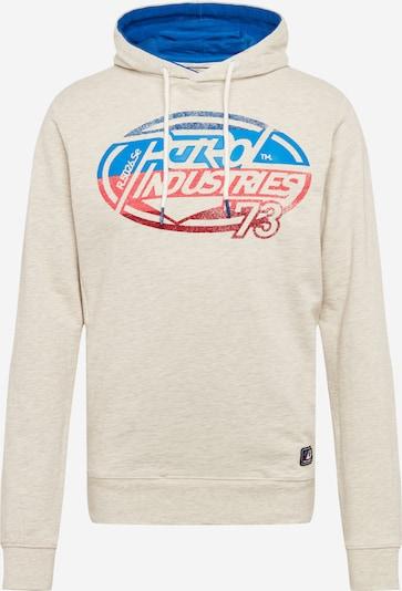 Petrol Industries Sweatshirt in beige / graumeliert, Produktansicht