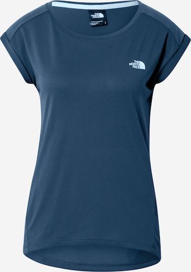 THE NORTH FACE Funkční tričko 'Tanken' - námořnická modř / světlemodrá: Pohled zepředu