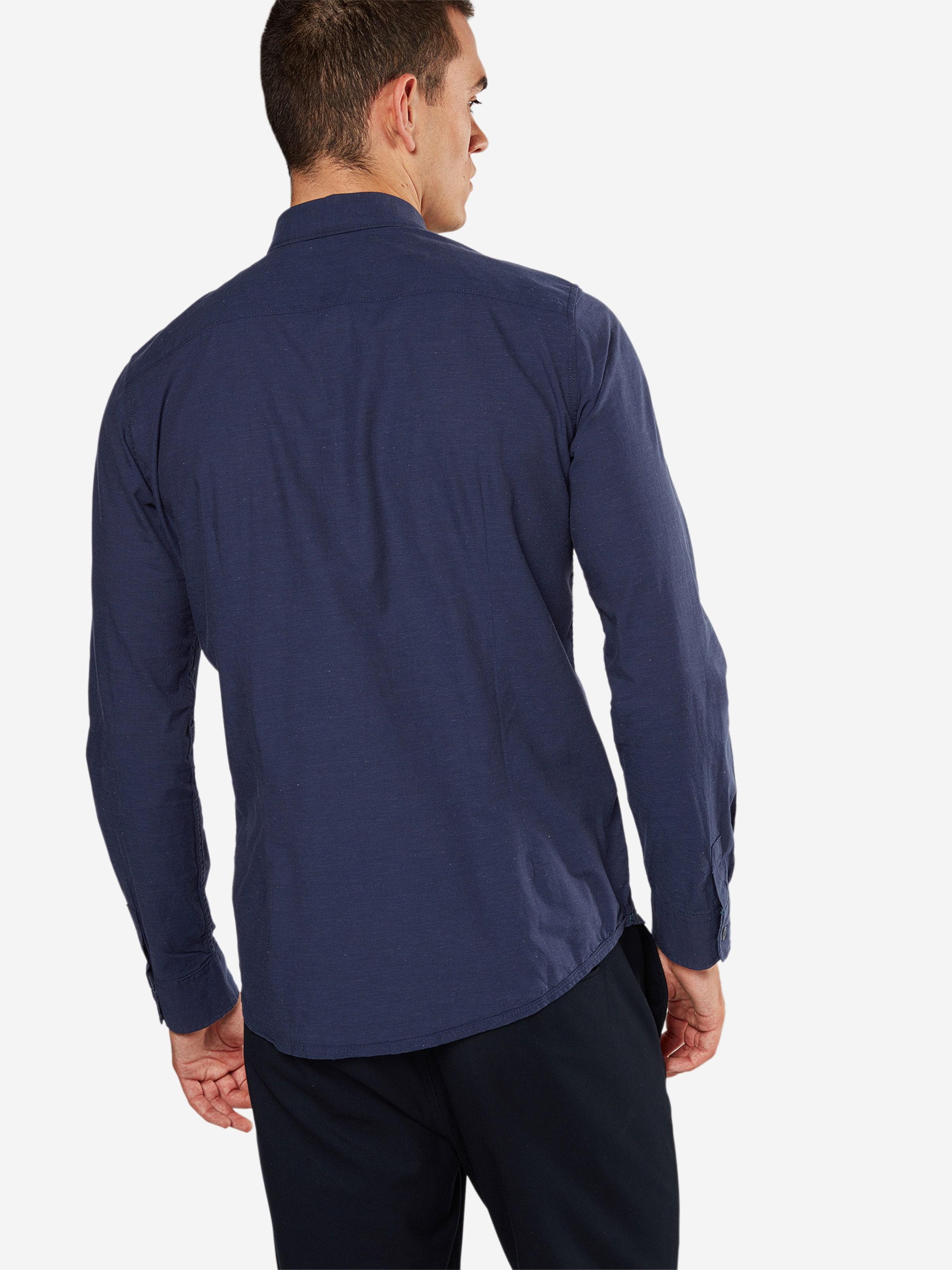 TOM TAILOR Hemd 'Floyd soft melange shirt' Besuchen Neue Spielraum Store Günstiger Preis Auslass Fälschen Auslass Niedriger Preis Gut Verkaufen 0qbTNAiW