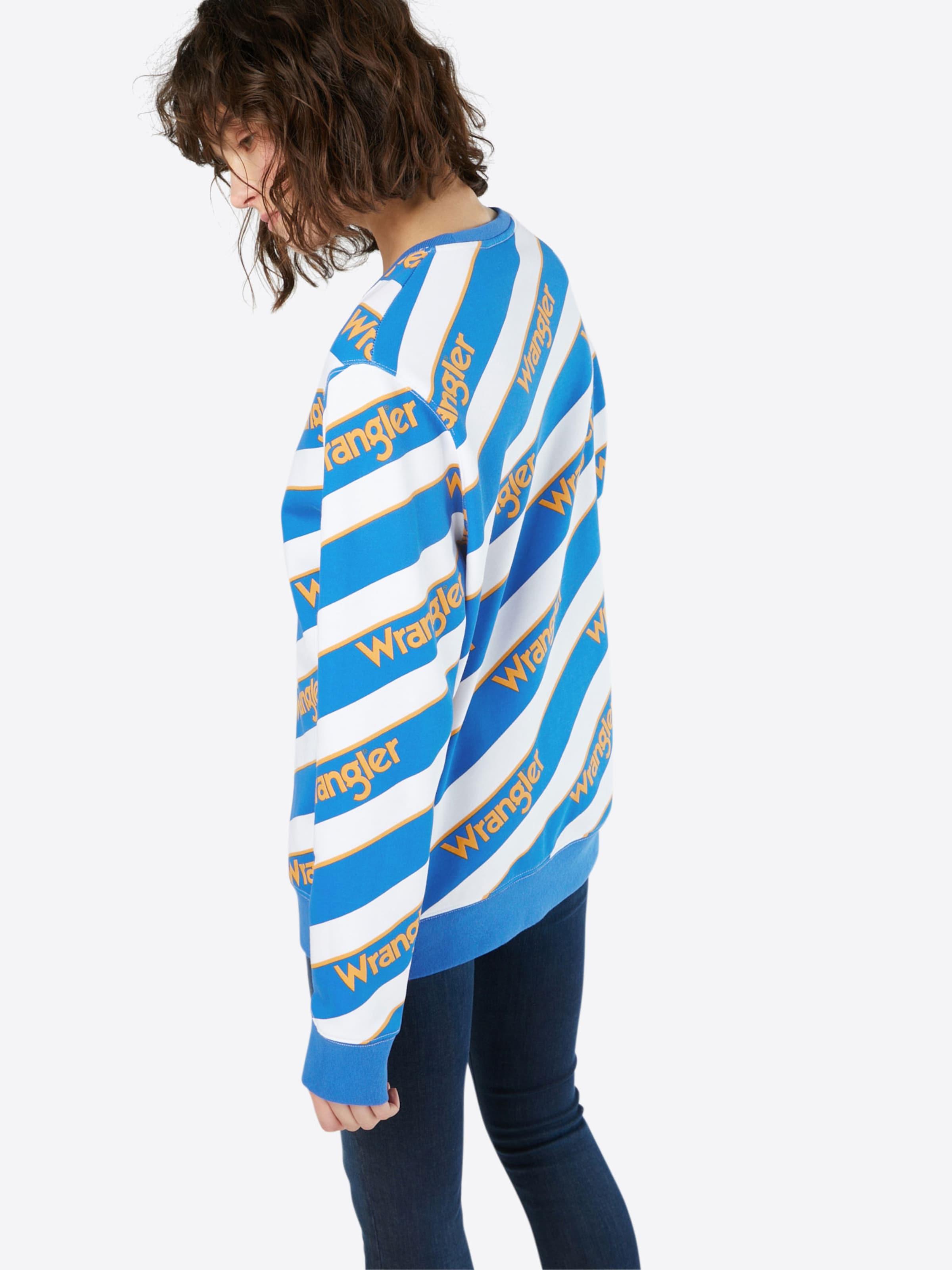 WRANGLER Sweatshirt 'B&Y' Verkauf Komfortabel Verkaufspreise LXu8Rl4xI