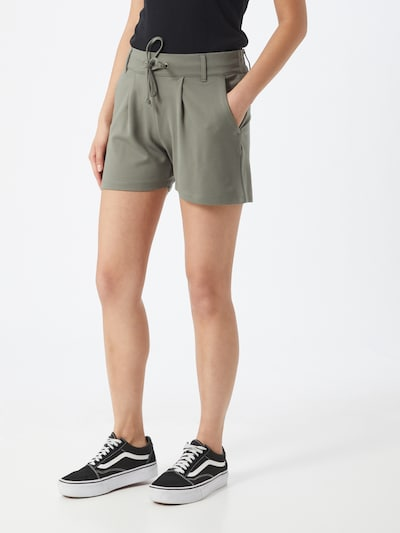 khaki JACQUELINE de YONG Nadrág 'JDYNEW PRETTY', Modell nézet