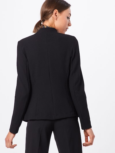ESPRIT Bleizeris 'Knit Blazer' pieejami melns: Aizmugures skats