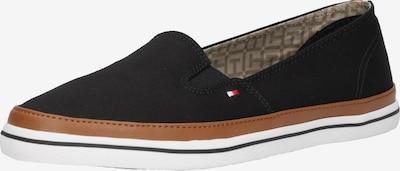TOMMY HILFIGER Slip-on obuv 'Kesha' - koňaková / čierna / biela, Produkt