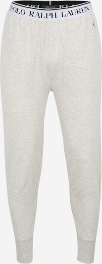 POLO RALPH LAUREN Pantalon de pyjama en gris / blanc, Vue avec produit