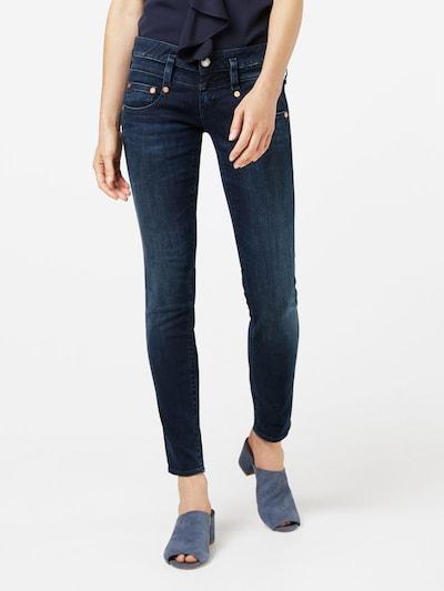Herrlicher 'Pitch' Slim Fit Jeans in dunkelblau, Modelansicht