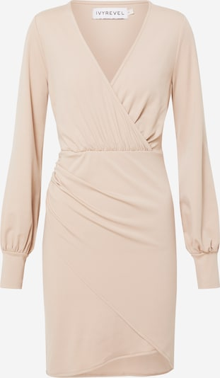 IVYREVEL Robe de cocktail 'DRAPY  DRESS' en beige, Vue avec produit