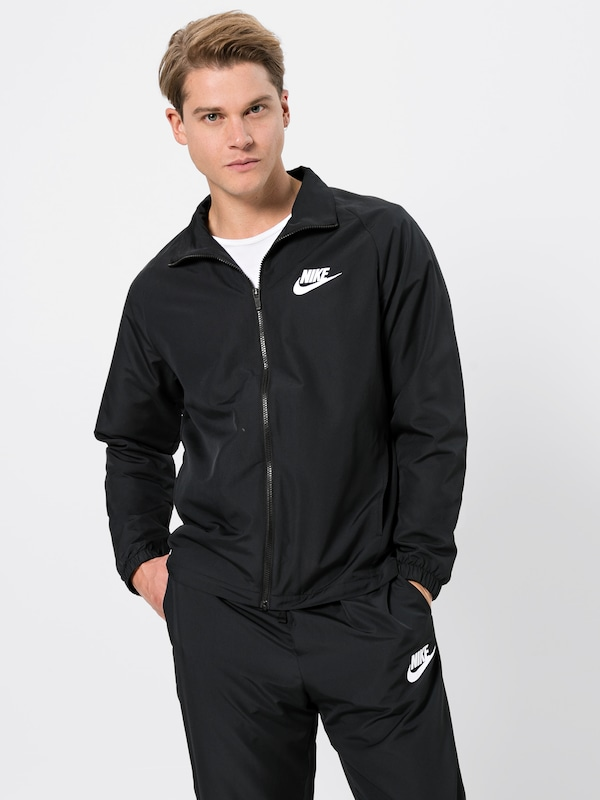 En Q0tiaa Woven 'track Nike Sportswear Noir Survêtement Basic' Suit pMGLqSVUz