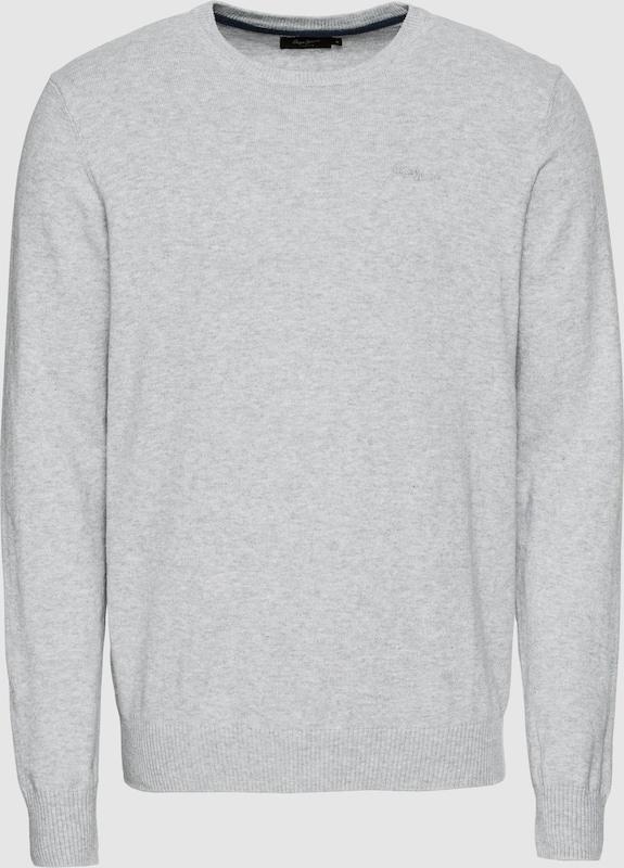 Pepe Jeans Pullover 'BARONS' in graumeliert  Großer Rabatt