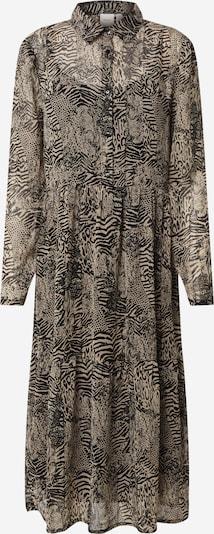 ICHI Kleid 'IHASSIP' in schwarz / weiß, Produktansicht