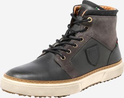 PANTOFOLA D'ORO Šněrovací boty 'BENEVENTO' - šedá / černá, Produkt