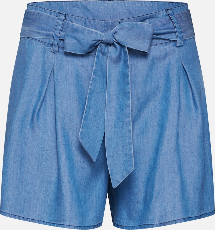 ABOUT YOU Shorts 'Caro' in blue denim, Produktansicht