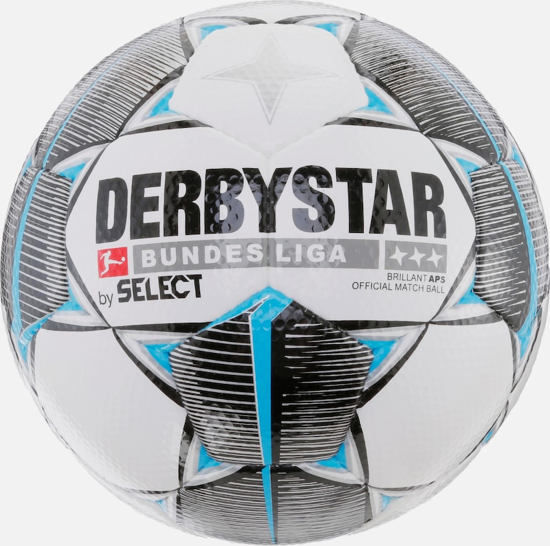 DERBYSTAR Fußball 'Derbystar Brilliant Bundesliga 19/20 APS' in anthrazit / schwarz, Produktansicht