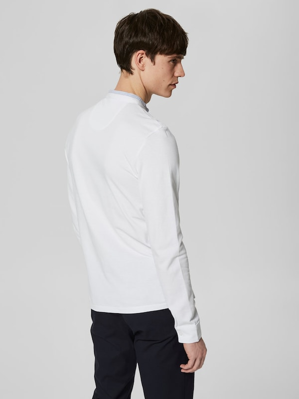 SELECTED HOMME Langärmeliges Poloshirt