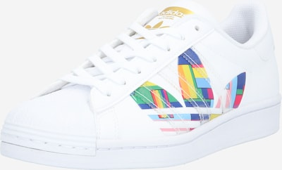 ADIDAS ORIGINALS Sneakers laag 'SUPERSTAR' in de kleur Gemengde kleuren / Wit, Productweergave