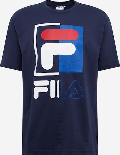 FILA Shirt 'Saku' in blau / weiß, Produktansicht