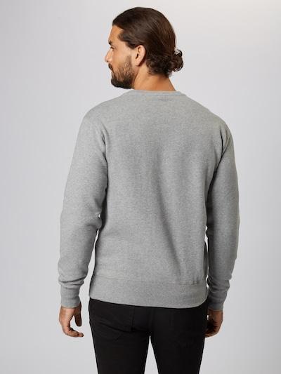 ELLESSE Sweat-shirt en gris chiné / mélange de couleurs: Vue de dos