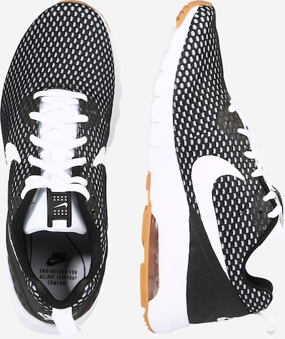 Nike Sportswear Sneaker 'Air Max Motion' in schwarz / weiß: Seitenansicht