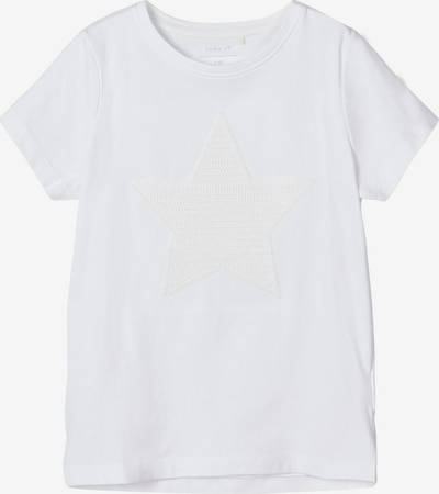 NAME IT T-Shirt 'Stern' in weiß, Produktansicht