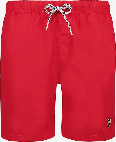 Shiwi Badehose 'Solid mike' in rot, Produktansicht