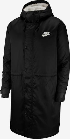Nike Sportswear Kapuzenmantel 'NSW' in schwarz / weiß, Produktansicht