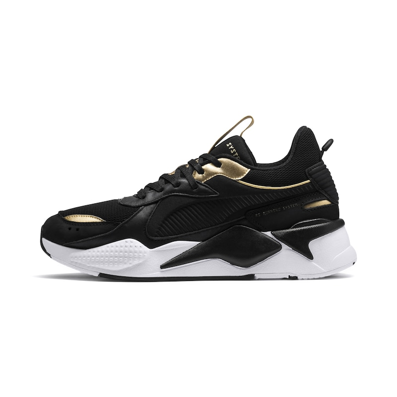 PUMA Sneakers laag 'Rs-X Trophy' in Goud / Zwart   ABOUT YOU
