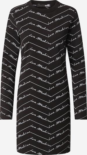 Love Moschino Jurk 'W5C0000E2192' in de kleur Zwart / Wit, Productweergave