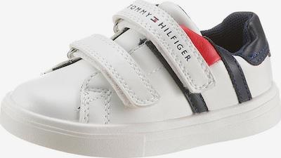 TOMMY HILFIGER Sneaker in marine / hellrot / weiß, Produktansicht